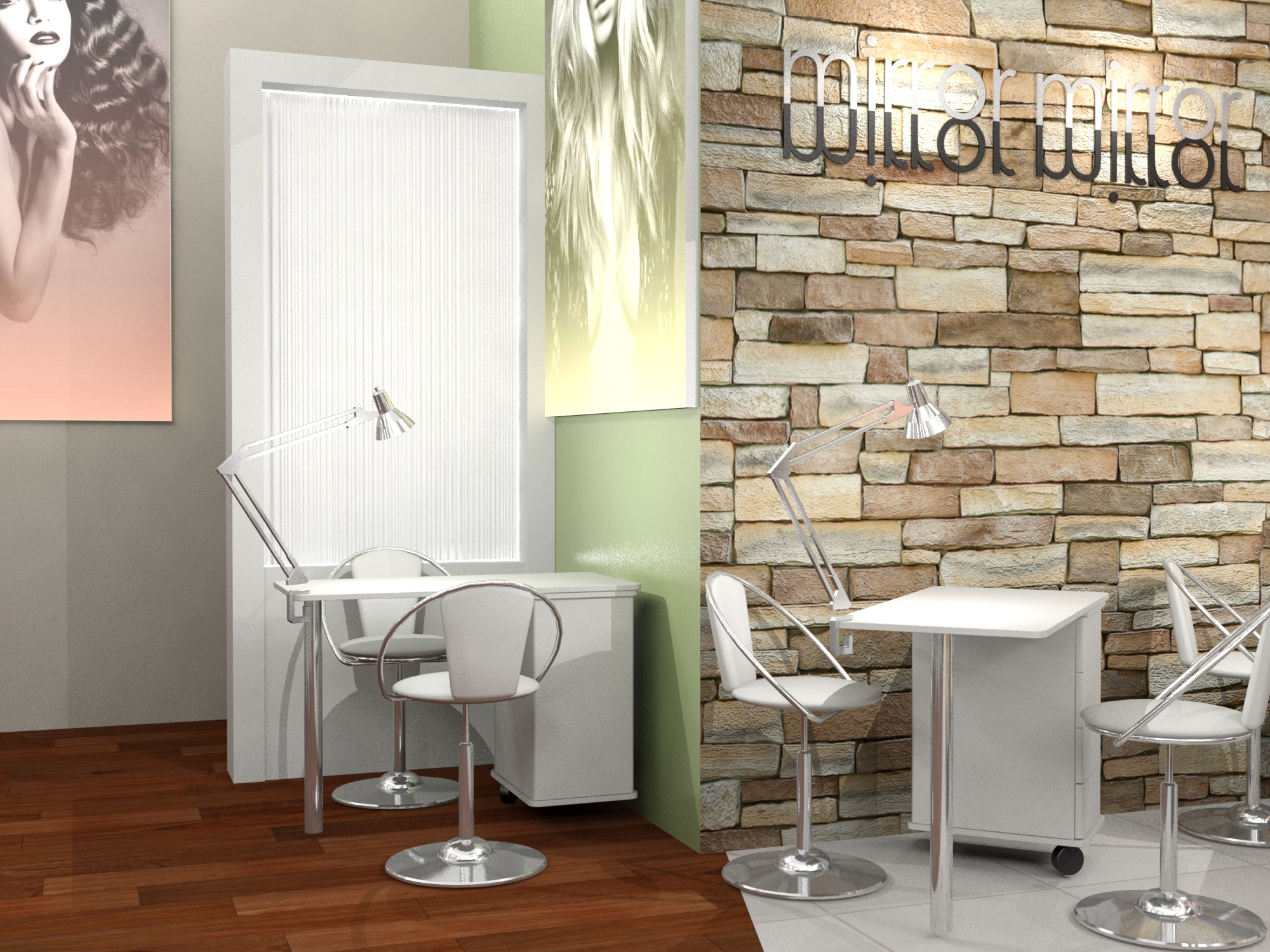 Interior Design - Hair Salon - SugarLab Creative