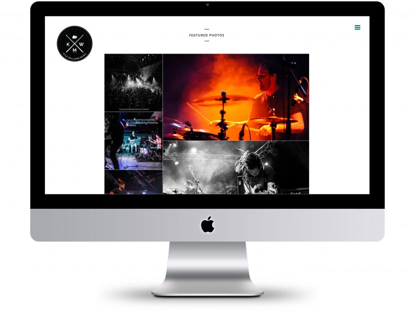 Kyle Williams Music - Website