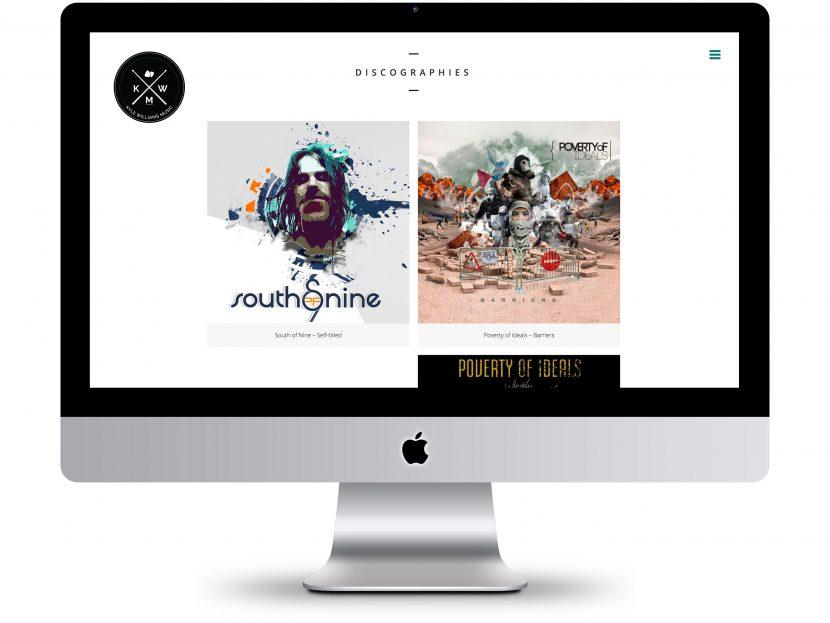 Kyle Williams Music - Website