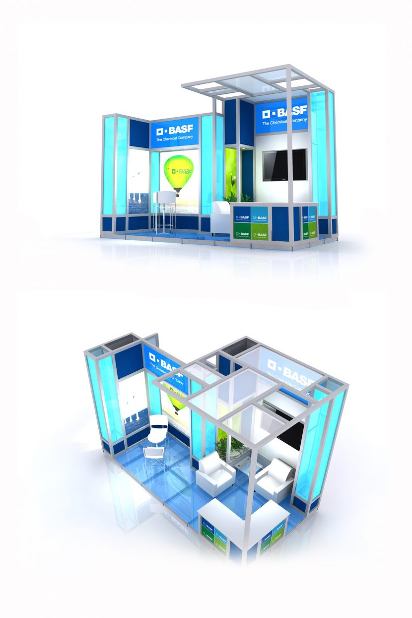 SugarLab Creative - System Exhibition Stand Design - BASF
