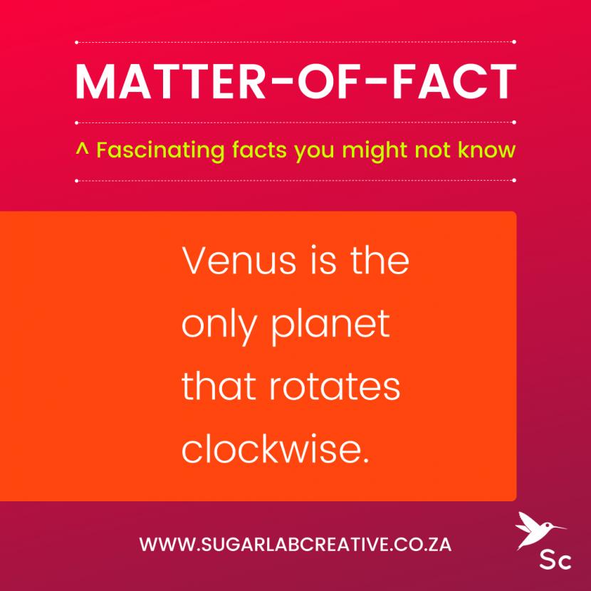 SugarLab Creative - Matter-of-Fact - Retrograde Rotation