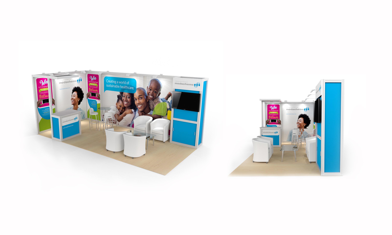 SugarLab Creative - System Exhibition Stand Design - Medscheme