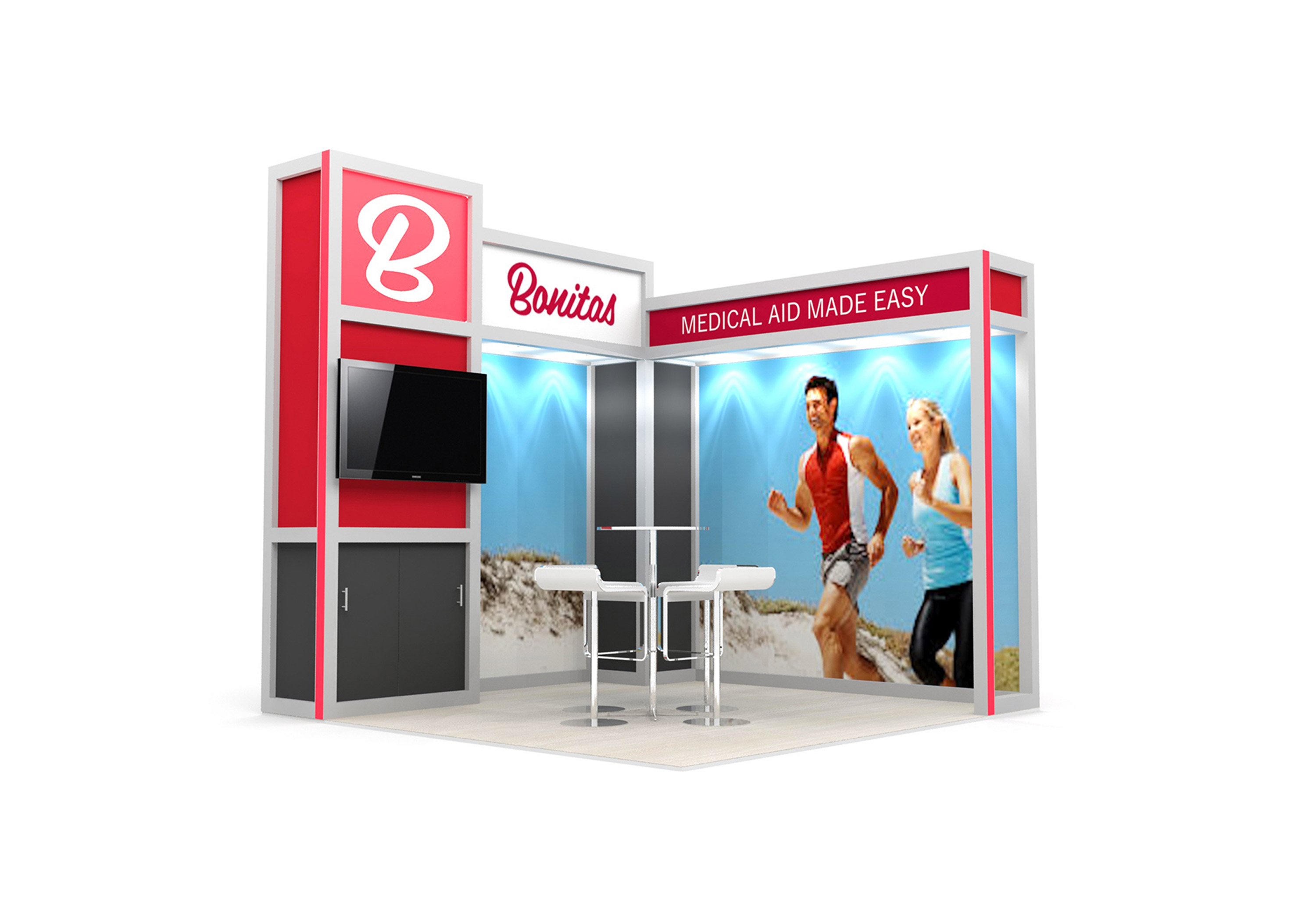 Exhibition Stand Systems : System exhibition stand design sugarlab creative