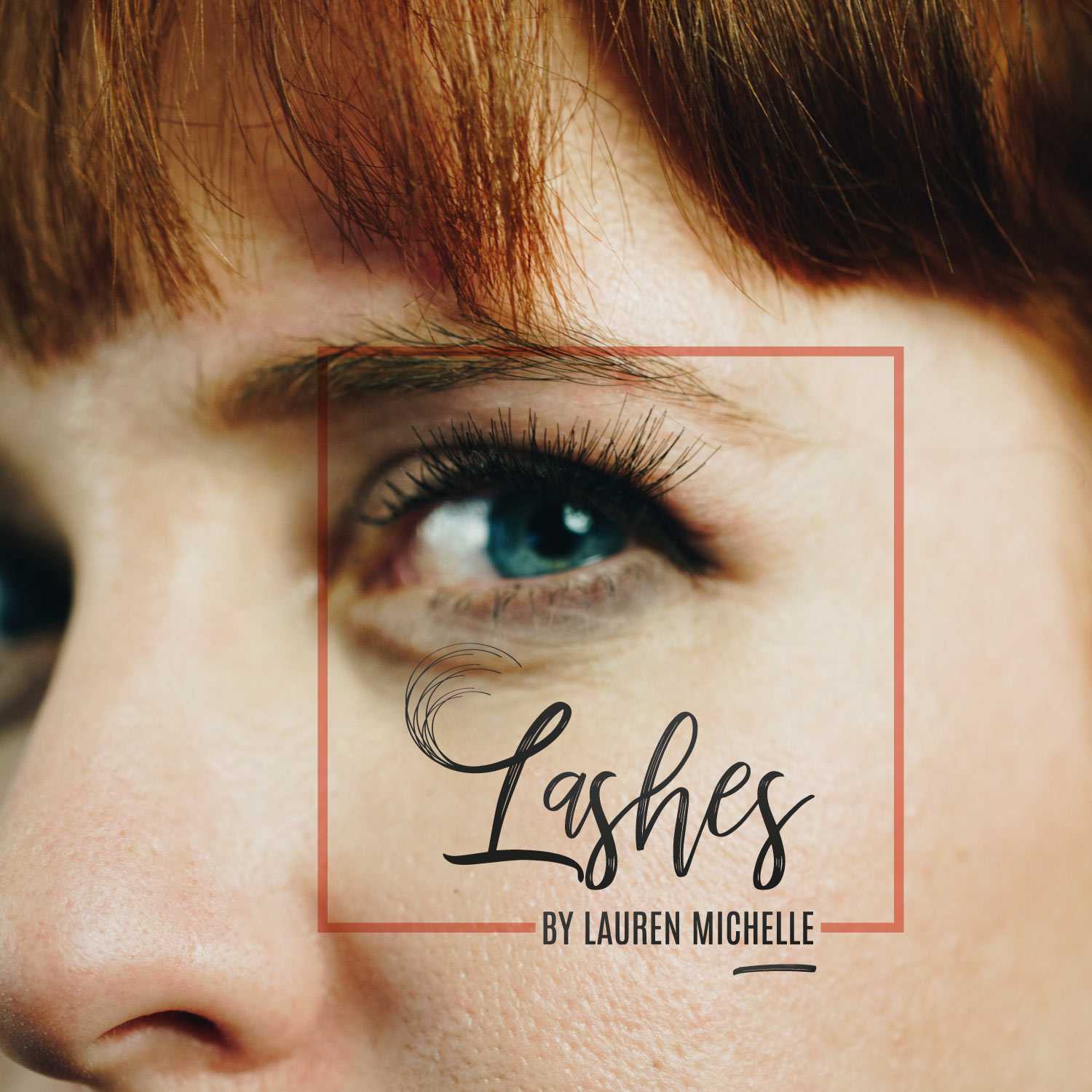 SugarLab Creative SA - Logo Design for Lashes by Lauren Michelle