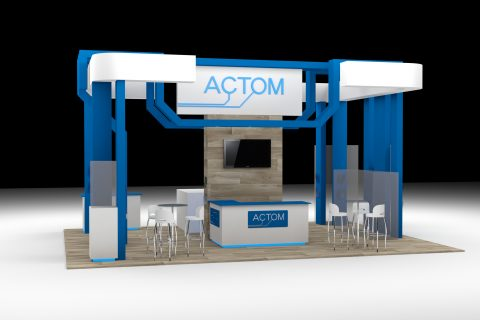 SugarLab Creative - Exhibition Stand Design - Actom