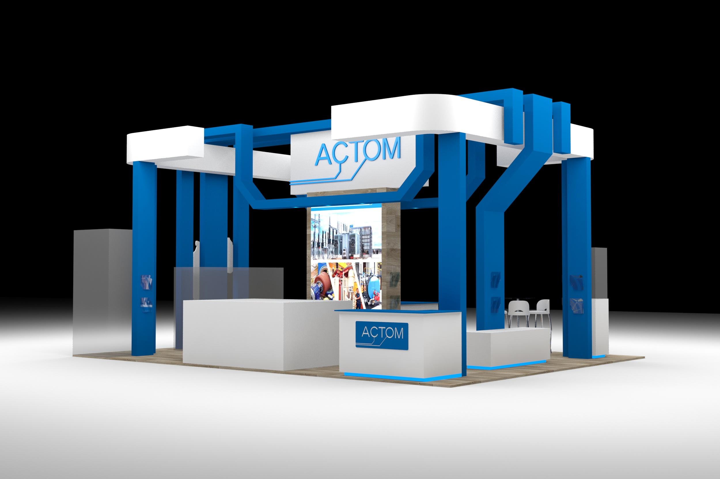 SugarLab Creative - Exhibition Stand Design - Actom
