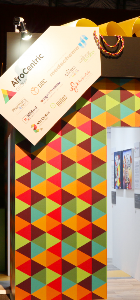 SugarLab Creative - Custom Exhibition Stand Design - AfroCentric Group