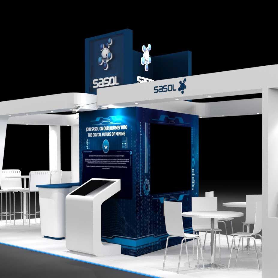 SugarLab Creative - Exhibition Stand Design - Sasol