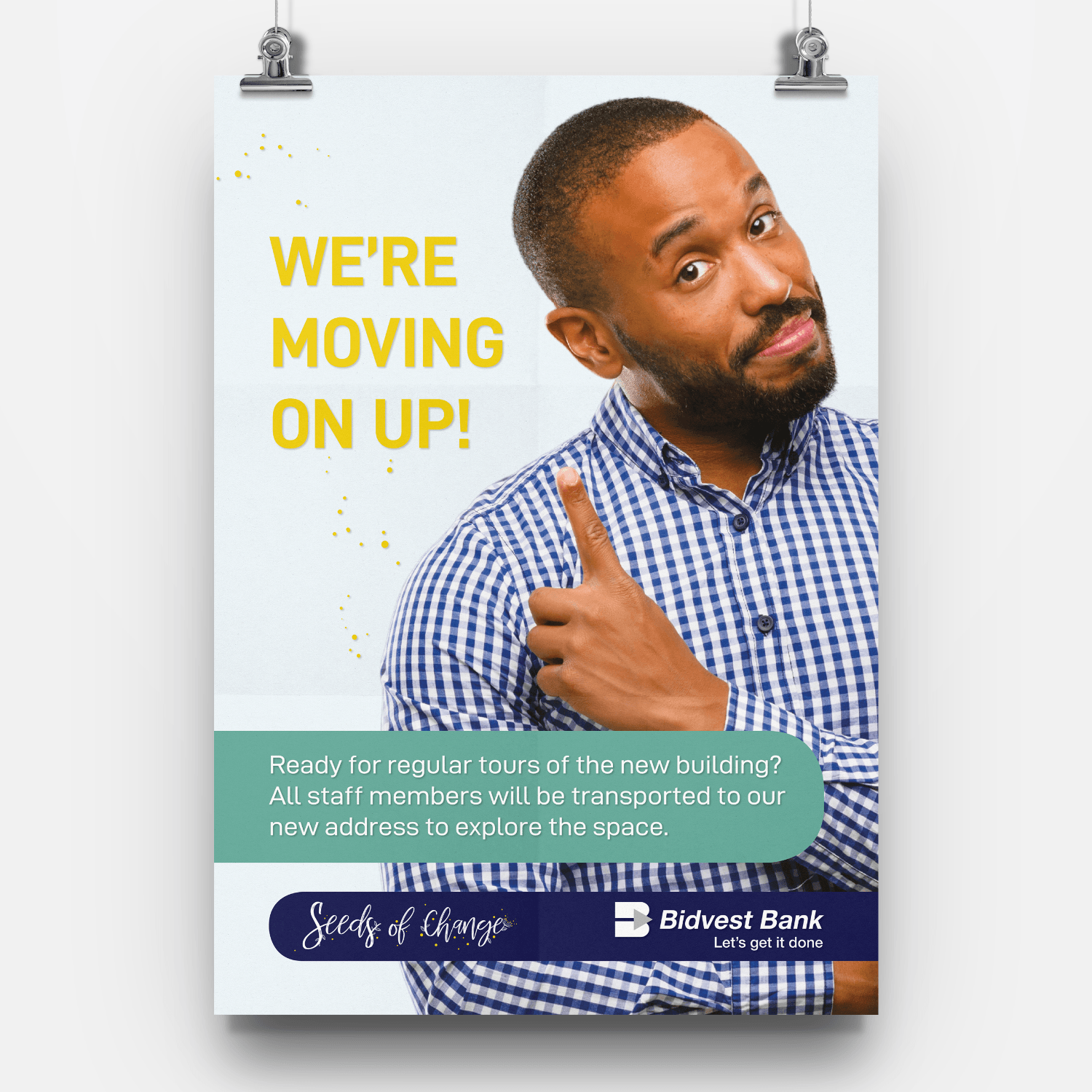 Bidvest Bank - Relocation Campaign - Signage Collateral