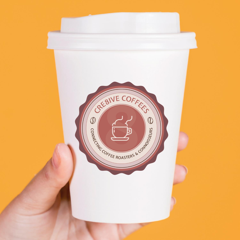 SugarLab Creative SA - Logo Design - Cre8ive Coffees