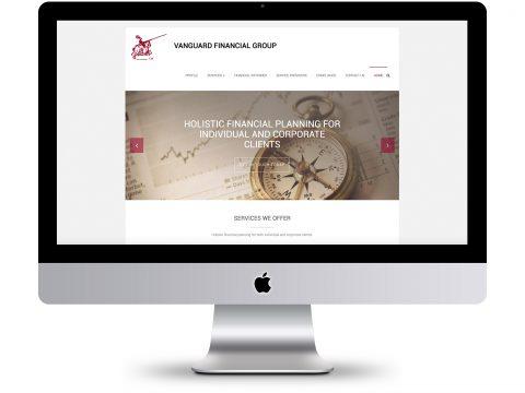 Vanguard Financial Group - Website