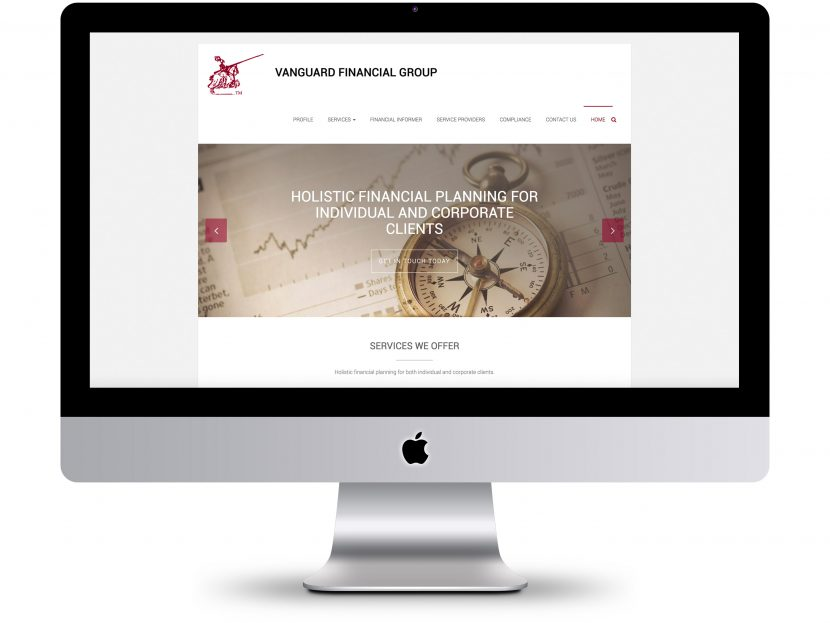 Vanguard Financial Group - Website