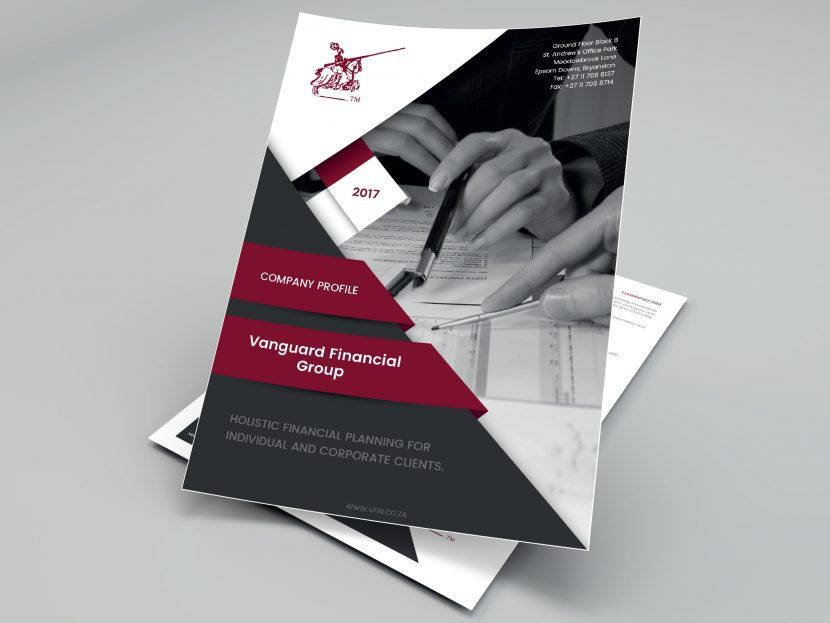 Vanguard Financial Group   Corporate Stationery