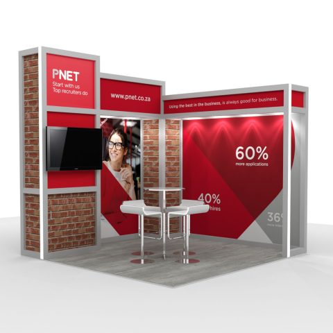 SugarLab Creative - System Exhibition Stand Design and Graphics - PNet