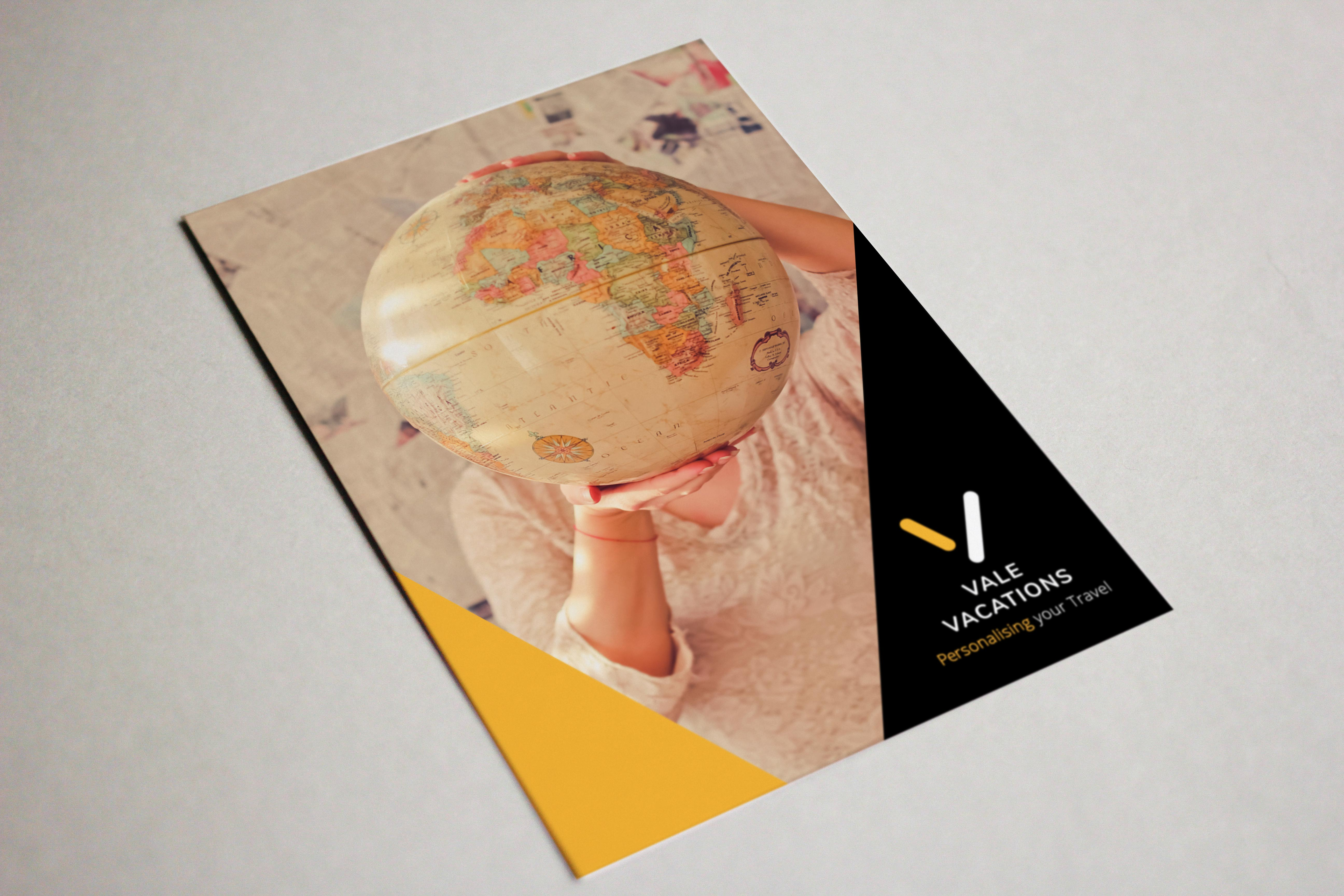 SugarLab Creative SA - Business Card Design for Vale Vacations