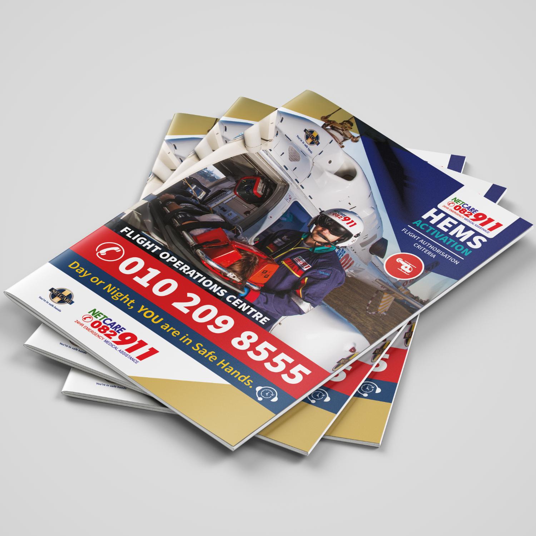 SugarLab Creative SA - Brochure Design for Netcare911