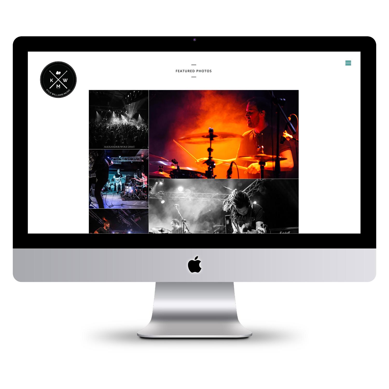 SugarLab Creative SA - Website Design and Development - Kyle Williams Music