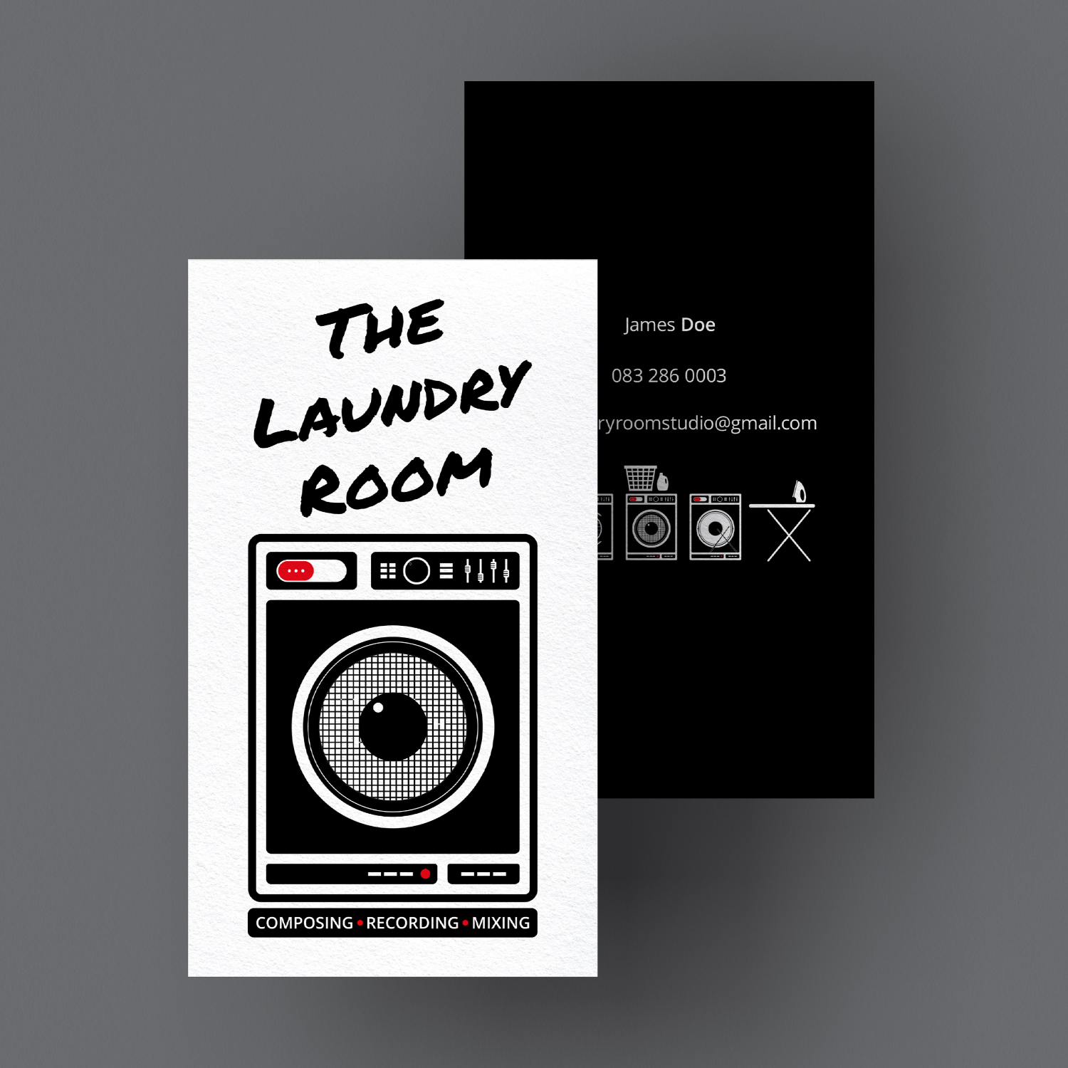 SugarLab Creative | Logo Design - The Laundry Room