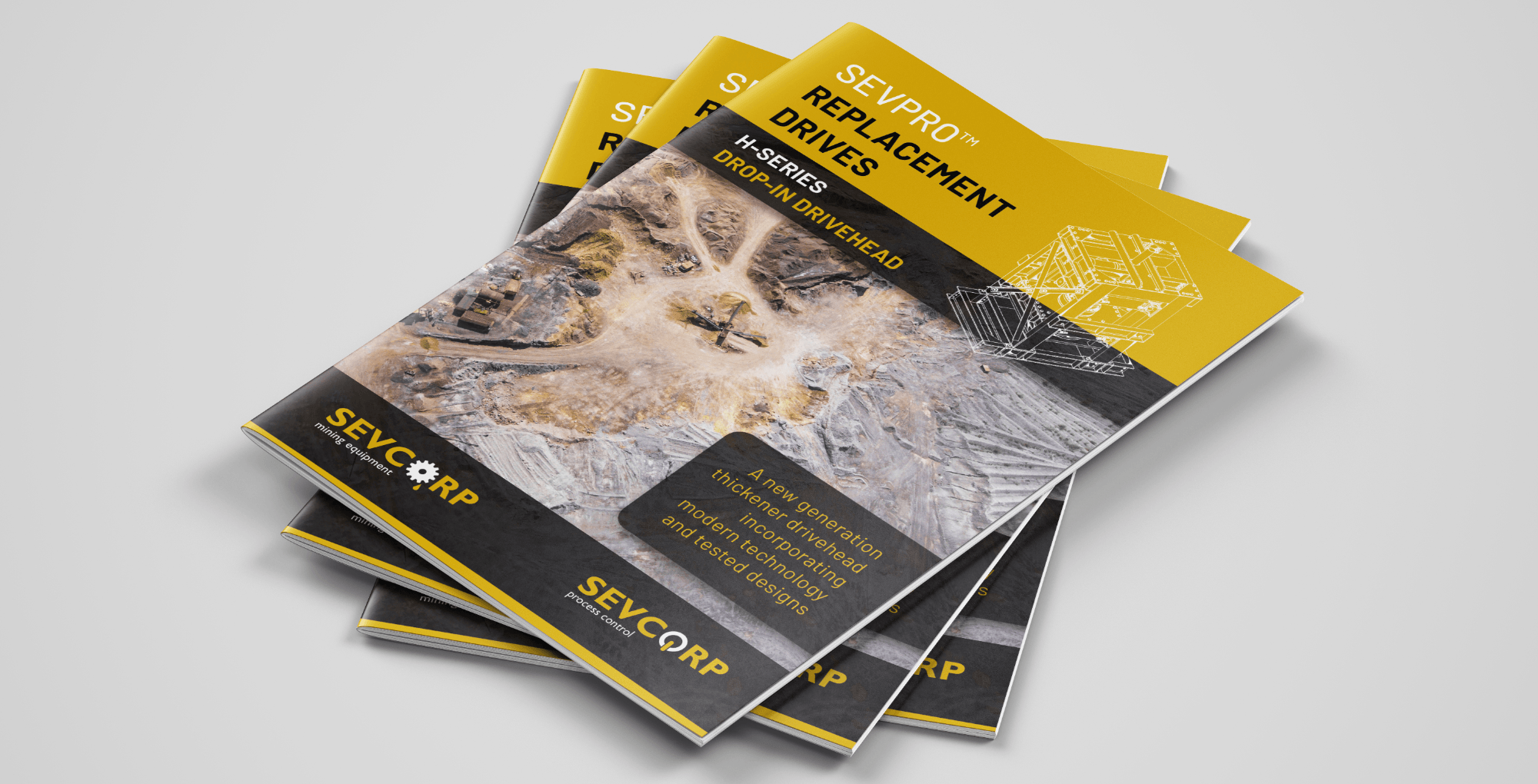 SugarLab Creative SA - Brochure Design - Sevcorp Mining Equipment